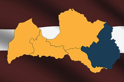 Латгалия и новые административные границы